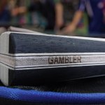GAMBLER 2X CARBON FLEX BLADE WITH GAMBLER ACES RUBBER