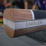 GAMBLER PRO COMPETITOR WITH ZEBRA CARBON BLADE AND ZERO RUBBER