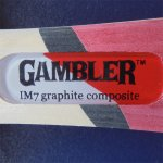 GAMBLER IM7 WITH SEVENS RUBBER