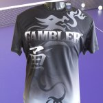 BLACK GAMBLER DRAGON SHIRT