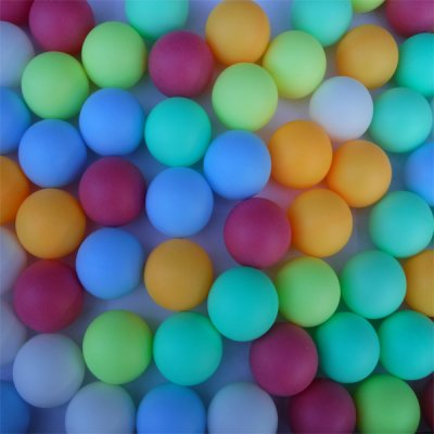 SUPER FUN 6 COLOR 40+ BALLS - PACK OF 72 - NOT FOR TABLE TENNIS