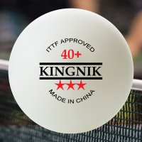 KINGNIK 40+ 3 STAR POLY BALLS - PACK OF 6