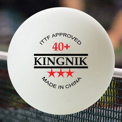 4 BOXES KINGNIK 40+ 3 STAR POLY BALLS (24 BALLS)